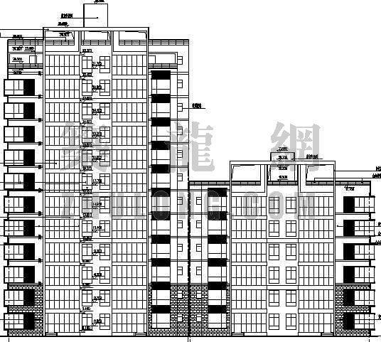 某江苏小高层住宅楼建筑设计方案