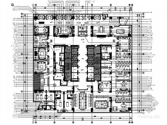 [合肥]生物科技养生会所设计装修图