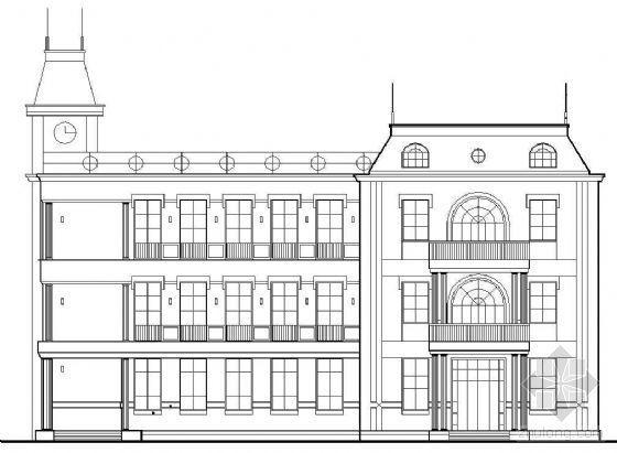 某三层欧式会所建筑方案