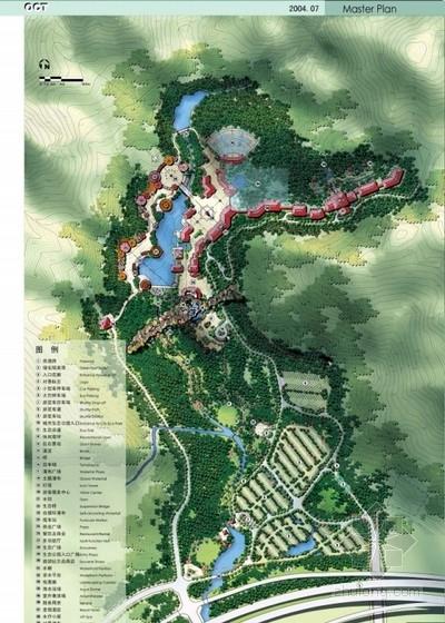 [深圳]生态旅游区入口前区规划设计方案文本