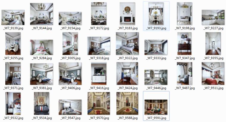 [成都]精品3层别墅样板间室内设计施工图(含效果图、材料表)_9