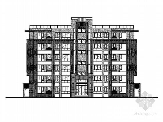 [南昌]条式剪力墙结构住宅建筑施工图(含多种方案)