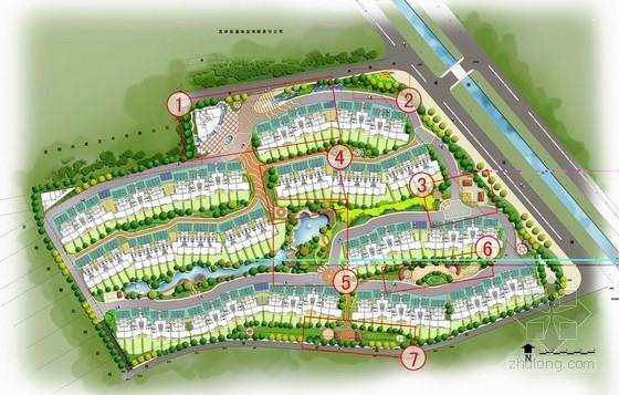 [昆明]花园住宅区园林绿化扩初设计方案