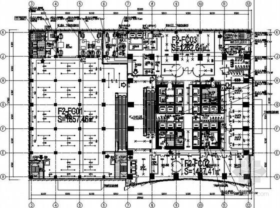 [云南]第一高楼空调通风初步设计图纸(设计说明详细)