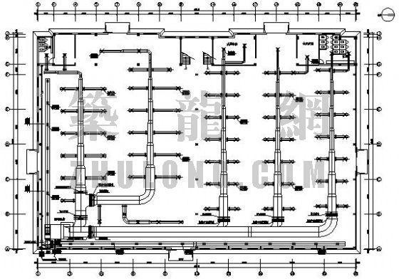 某服装厂空调施工图