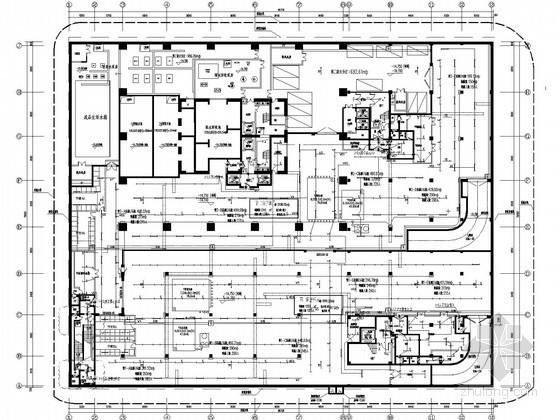 [无锡]超高层国际金融中心全套电气施工图纸210张(多大样图)