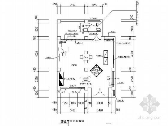 [四川]电信某营业厅装修图