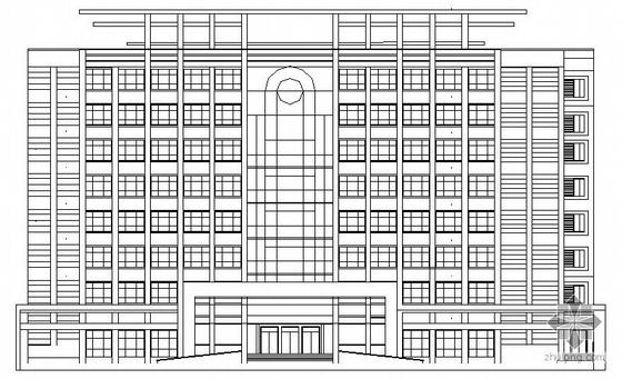[郑州市][毕业设计]某八层办公楼建筑扩初图