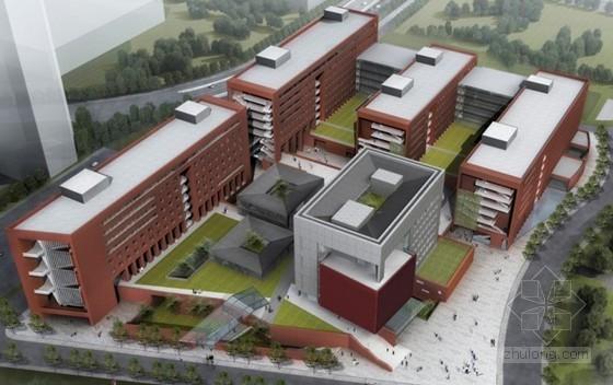 [北京]框架结构科研教学楼施工组织设计(平面布置图)