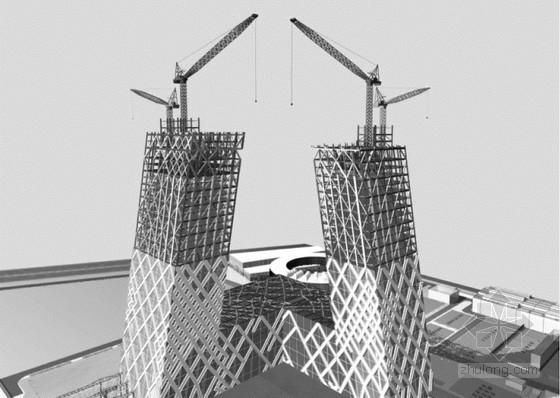 [北京]超高层全钢结构斜塔楼施工组织设计(700余页,大悬臂结构)