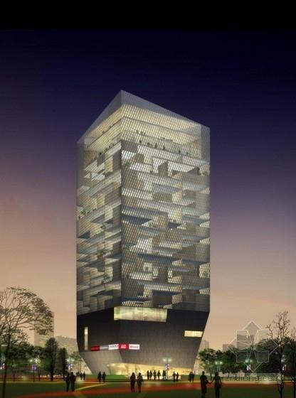 [浙江]28层高层办公楼建筑设计方案文本