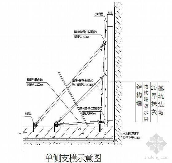 某综合楼模板施工方案(小钢模板  木胶合板)