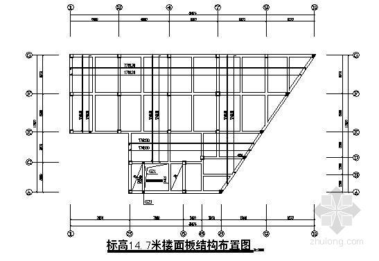 四层框架结构住宅楼结构施工图(独基 平法图)