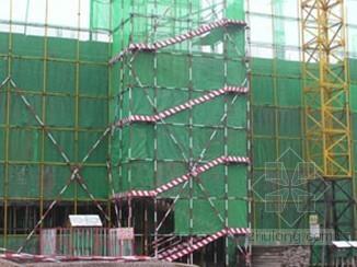 [河南]落地式、悬挑式脚手架施工方案