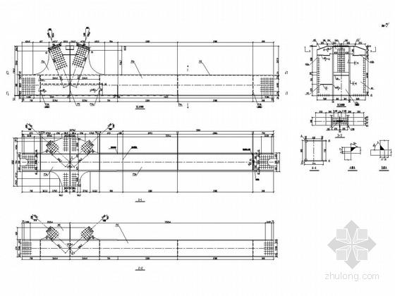 (62+100+62)m连续钢桁架桥上部施工图(99张)