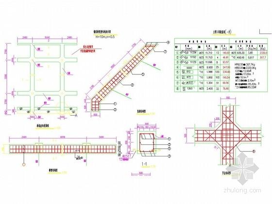 路基防护设计锚索设计图10张