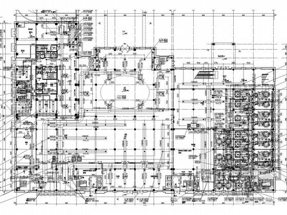 [江苏]高层五星级酒店空调通风及防排烟系统设计施工图(甲级院设计 含计算书)