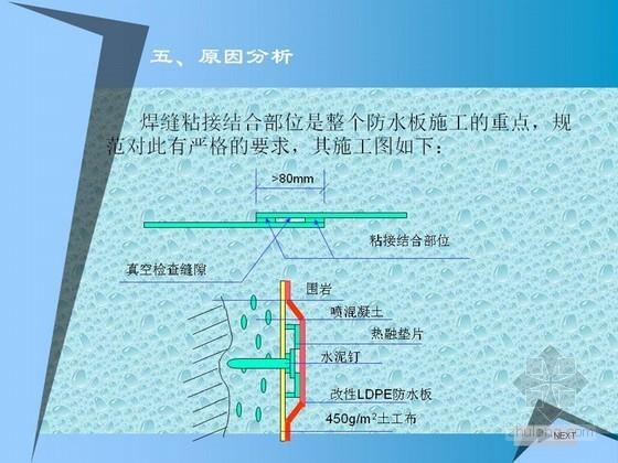 [QC成果]提高隧道工程防水板的施工質量