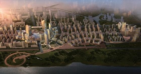 [武汉]城市综合体规划及单体设计方案文本(国外知名建筑事务所)
