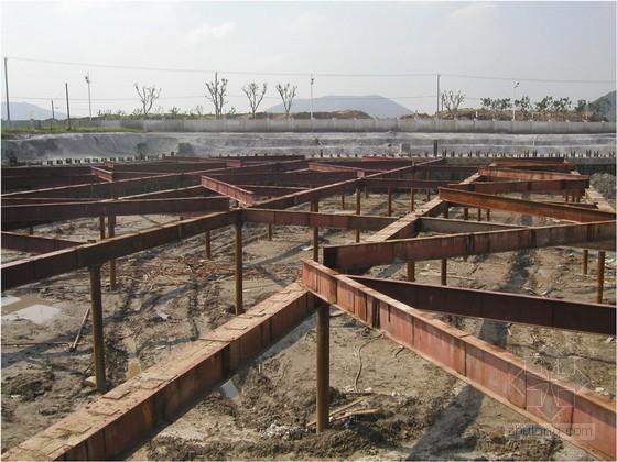 [江苏]10米深基坑桩锚支撑案例