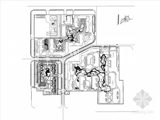[河北]居住小区景观设计施工图