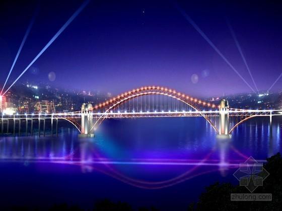 [重庆]市政工程临时用电用水专项施工方案(路桥隧道,中冶,2013)