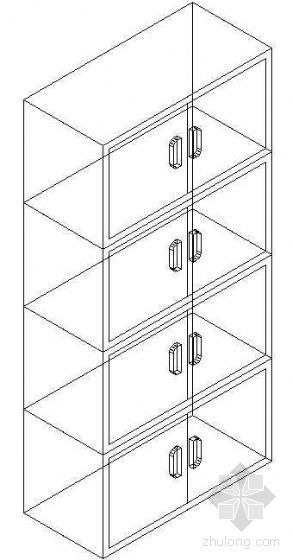 办公家具CAD模型17