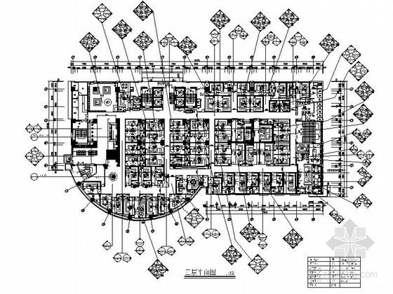 [海南]某豪华KTV室内装修施工图