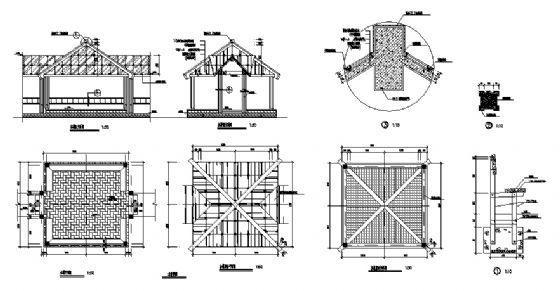 木榭详图-4