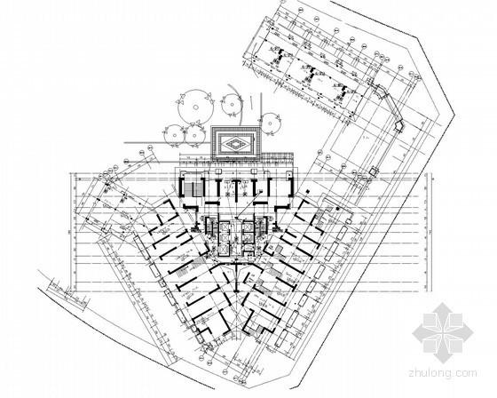 [重庆]超高层商住楼强弱电施工图99张(附供电局深化图纸94张 甲级设计院)