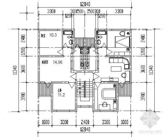 遵义市外环路沙河区修建性规划住宅楼方案图7-3