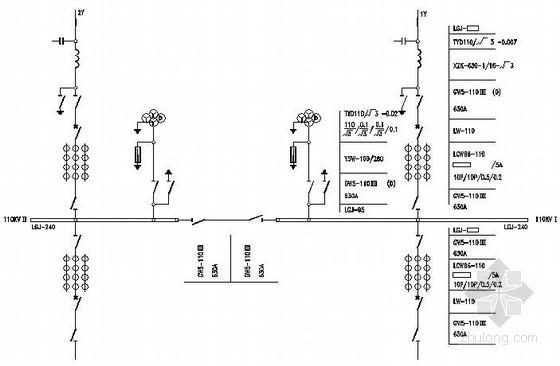 110KV变电站典型设计图纸