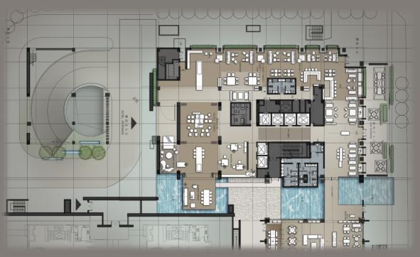 [CCD]厦门佳逸酒店室内设计方案+景观设计方案+建筑效果图