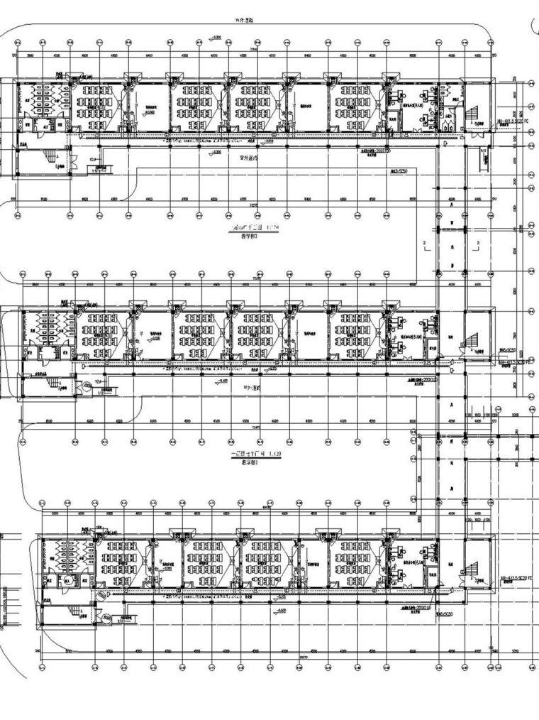 [浙江]师范大学外国语校区建筑群电气全套施工图(水电全)