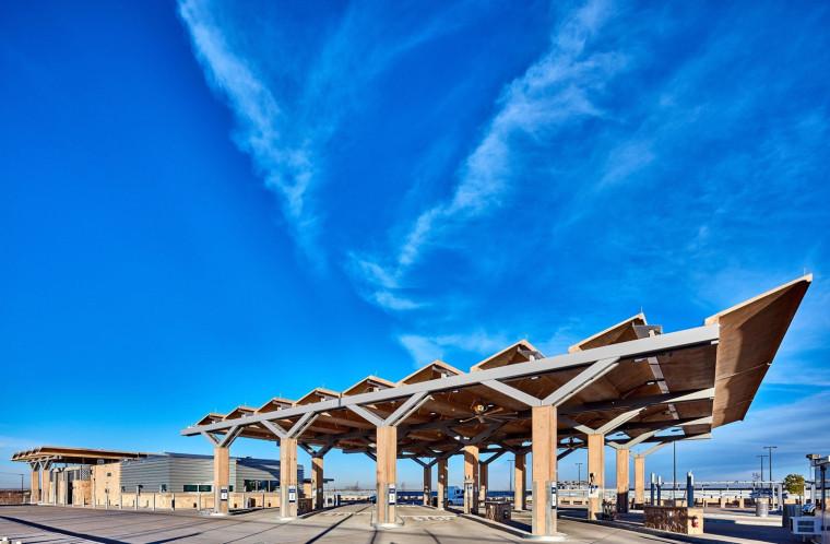美国Tornillo入口港景观