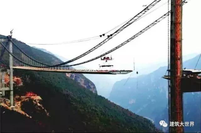 用火箭架桥!云南200层楼高的世界第一高桥!震惊世界!_21
