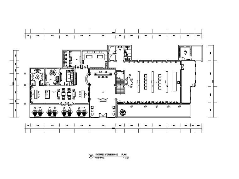新中式风格茶楼会所设计CAD施工图(含效果图)