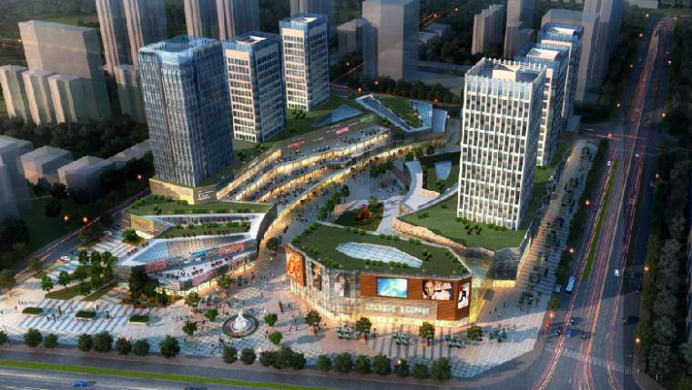 河南新区中意商务区城市设计方案文本