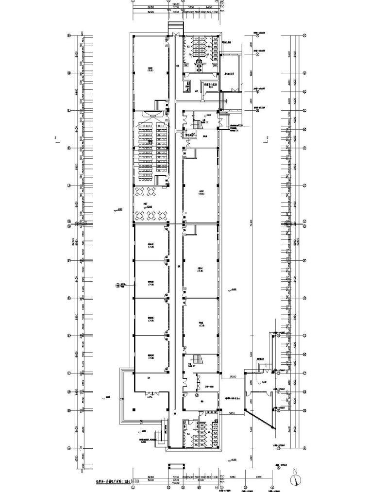 [江苏]工艺职业技术学院实训楼智能化系统工程图纸