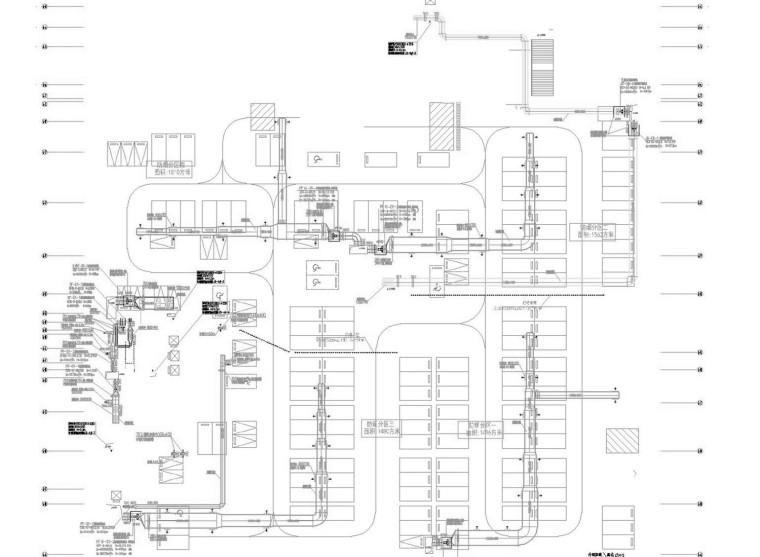 [重庆]高层商业办公建筑通风及防排烟系统设计施工图