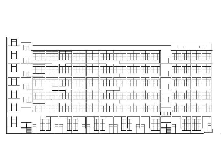 [广东]现代风格小学教学楼设计方案图纸