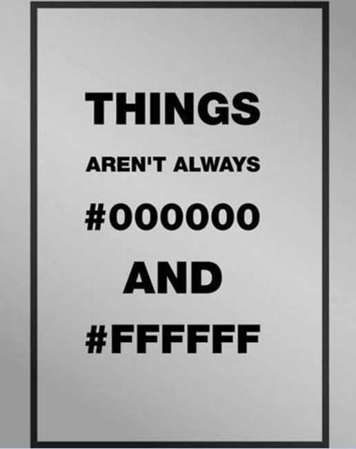 有谁知道#000000和#FFFFFF代表什么?颜色?