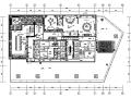 [内蒙古]金融广场中式茶会所室内设计施工图(附效果图)