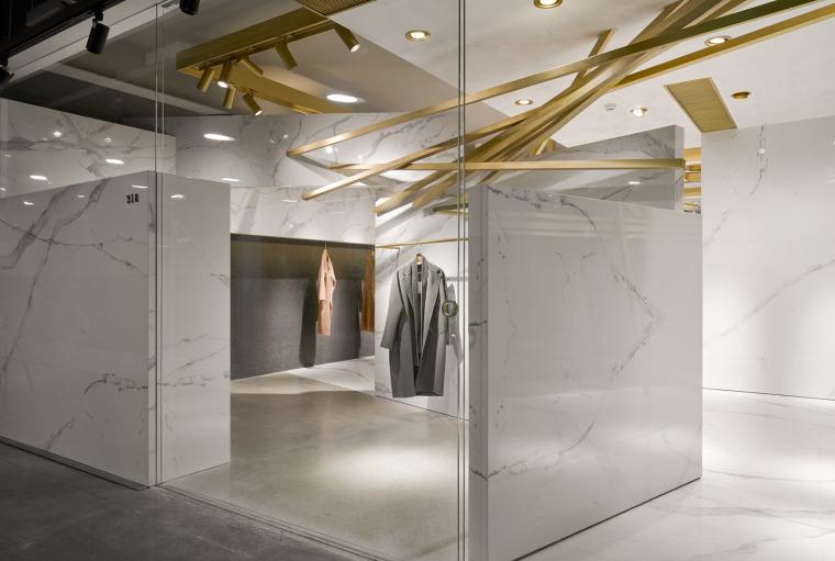 杭州ANDFOR服装品牌展厅-4