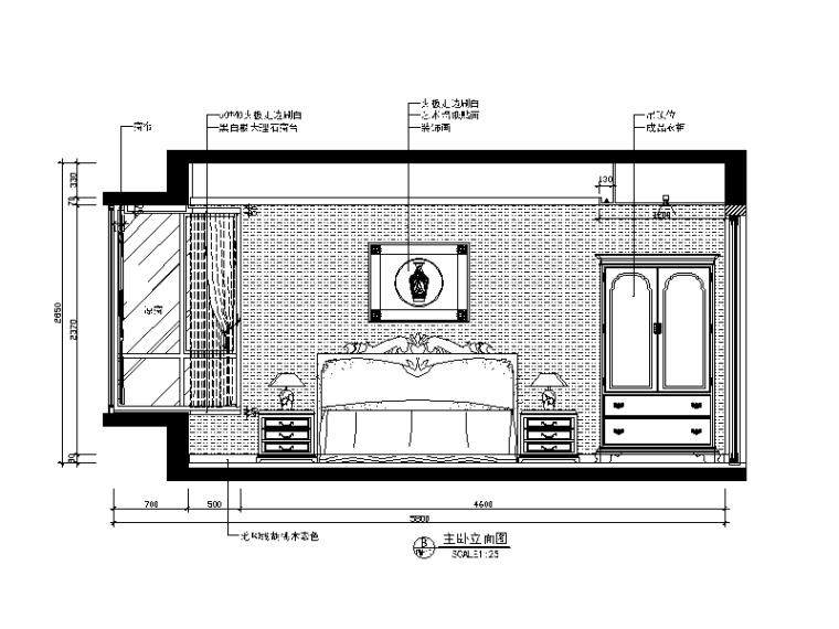 [广东]新中式别墅风格v别墅CAD施工图(含效果图cad样式修改打印图片