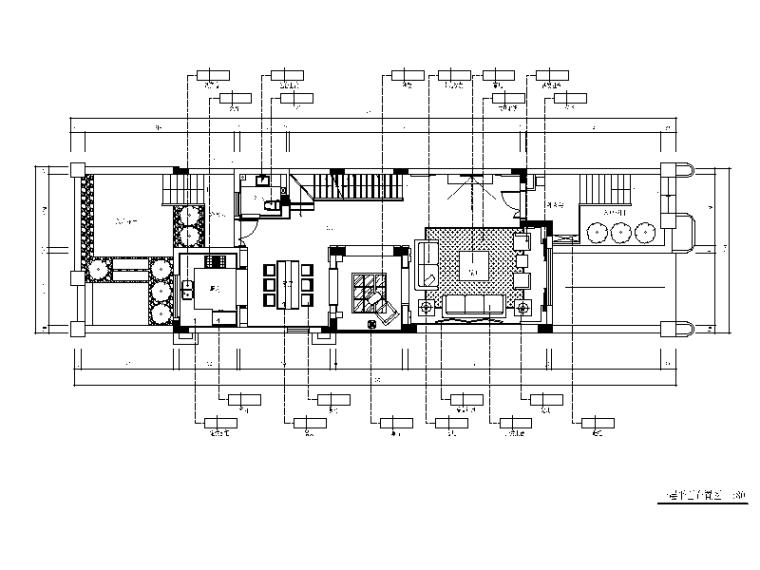 [浙江]新中式风格合院住宅设计CAD施工图(含实景图、效果图)