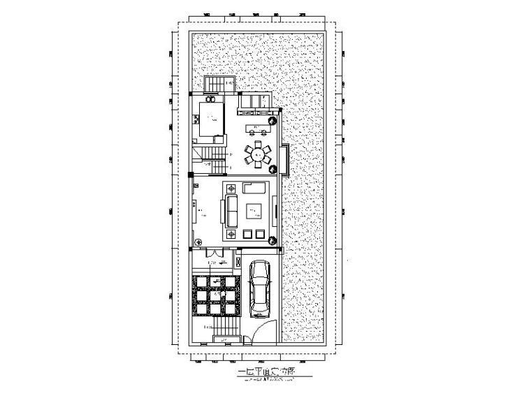 [江苏]别墅住宅设计CAD施工图(含效果图)