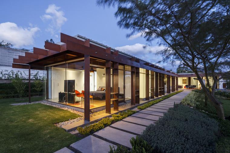 厄瓜多尔隐形边界的住宅-17