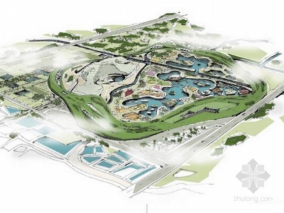 [上海]城市休闲旅游植物园景观规划设计方案