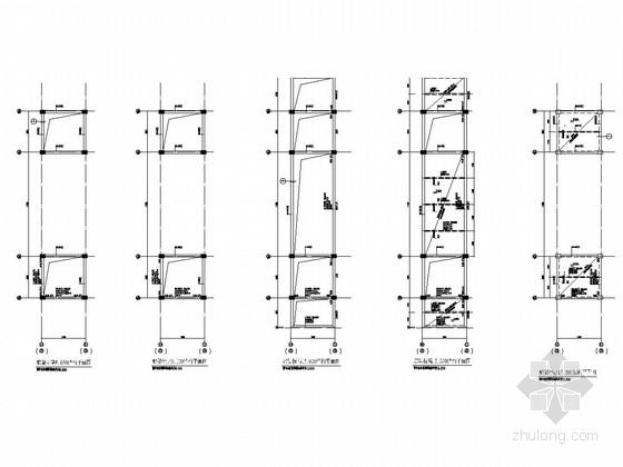 教学大楼廊架结构图